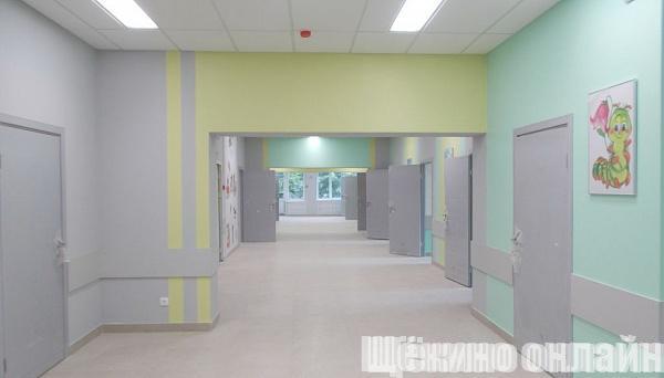 Завершается ремонт в детской поликлинике
