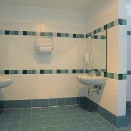 Интересный дизайн, креативный внешний вид комнаты можно создать с помощью керамического покрытия.