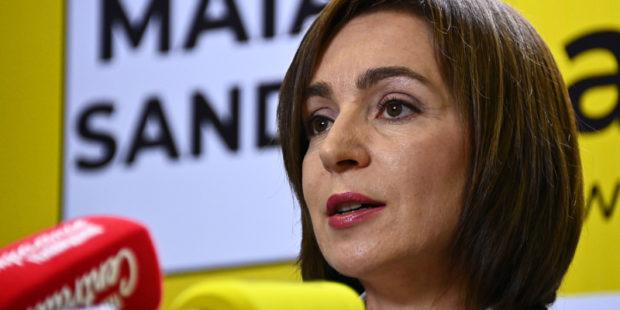 Санду назвала два ключевых вопроса в переговорах с Россией