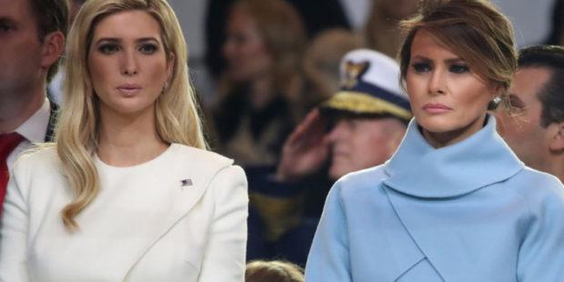 В США раскрыли правду о вражде между Меланией и Иванкой Трамп