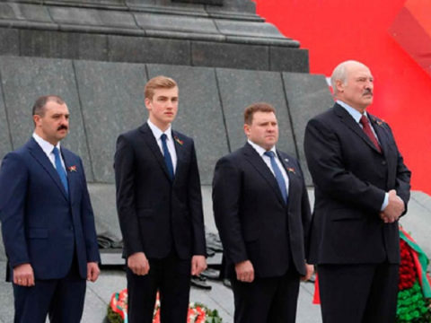 Семья Лукашенко: СМИ показали, как выглядят жена и сыновья президента Белоруссии