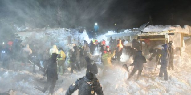 В Норильске был объявлен день траура по погибшим под лавиной
