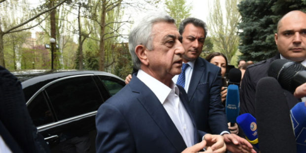 Экс-президент Армении заразился коронавирусом