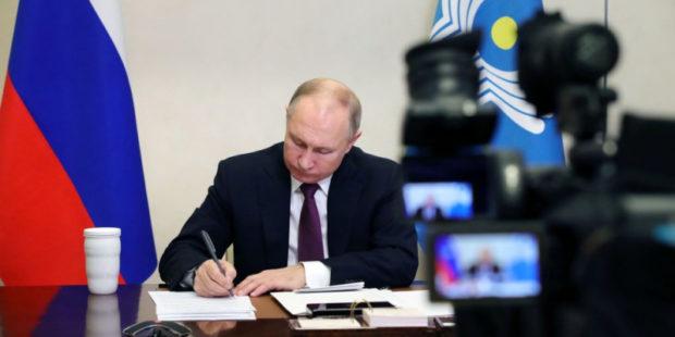 Путин провел совещание, на котором обсуждалось карабахское урегулирование