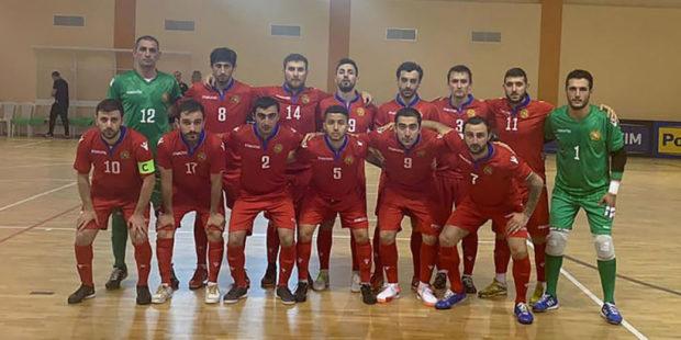Сборная Армении по футзалу уступила России в отборе Евро-2022