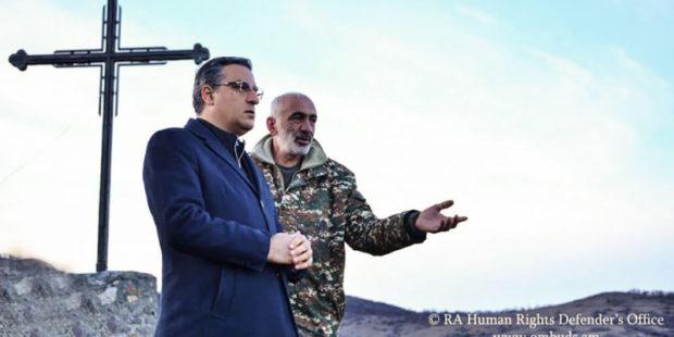 Татоян отправит в ЕСПЧ внеочередной доклад о положении армянских пленных в Азербайджане