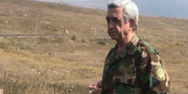 """""""Ты не побеждена, тебя предали"""": третий президент Армении Серж Саргсян обратился к армии"""