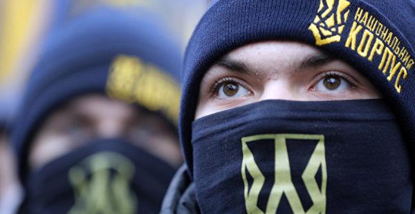 «Нацкорпус» и «Патриоты — За жизнь» схлестнулись в центре Киева