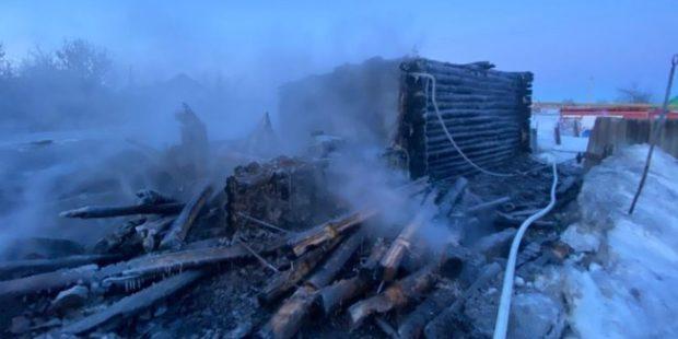 В Пензенской области два человека погибли при пожаре
