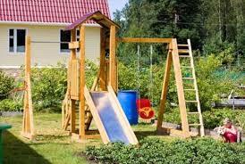 Преимущества приобретения детских дачных площадок