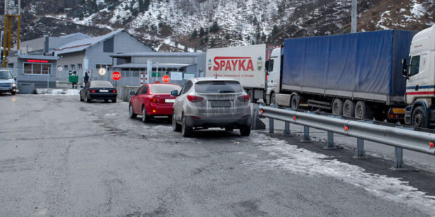 Движение на Военно-Грузинской дороге открыли для всех видов транспорта