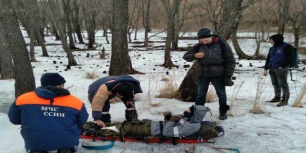 В Приморье мужчина спасся от медведицы на железной вышке