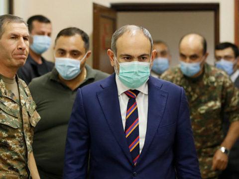 Генштаб Армении потребовал отставки премьер-министра Никола Пашиняна - заявление