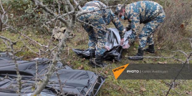 Поиски останков армянских военных в Карабахе продолжаются: задействованы 4 отряда