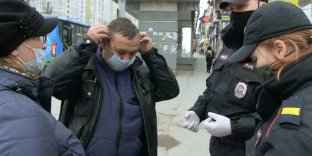 В Бийске штрафов за отсутствие маски наложили более чем на полмиллиона рублей