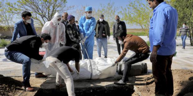 В Иране свыше 58 тыс человек стали жертвами COVID-19 с начала пандемии