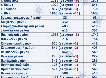 В одном из муниципалитетов Ивановской области вспышка коронавируса