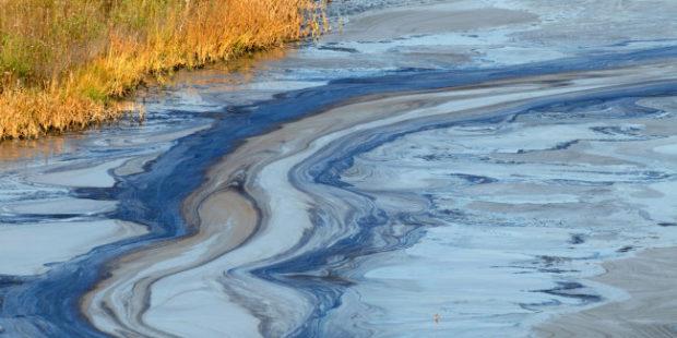В Саратовской области ликвидируют последствия разлива нефти
