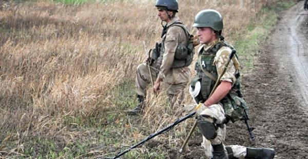 Киевский режим усиленно минирует Донбасс — ДНР
