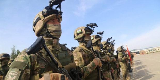 Турция и Узбекистан проводят учения у границ с Афганистаном: опубликованы кадры
