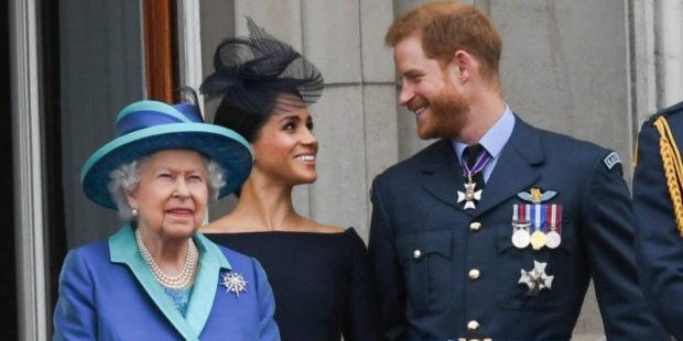 Королевская семья отреагировала на интервью принца Гарри и его супруги