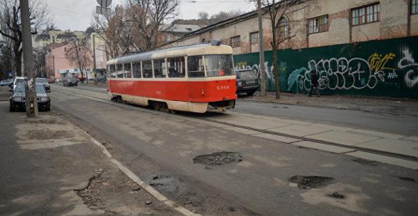 В харьковском трамвае видели ангела