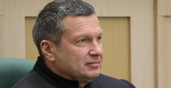 «Без Зеленского обошлись»: Соловьев прокомментировал переговоры Путина, Меркель и Макрона