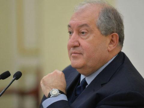 Борьба не должна выходить за рамки закона – президент Армении по случаю 1 марта