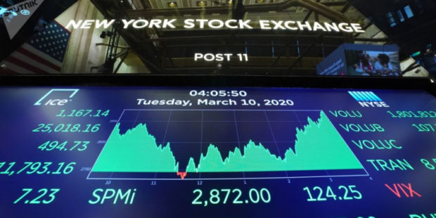 Цена на нефть продолжает падать после резкого скачка