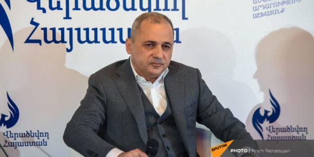 """Экс-губернатор Сюника создал партию """"Возрождающаяся Армения"""""""