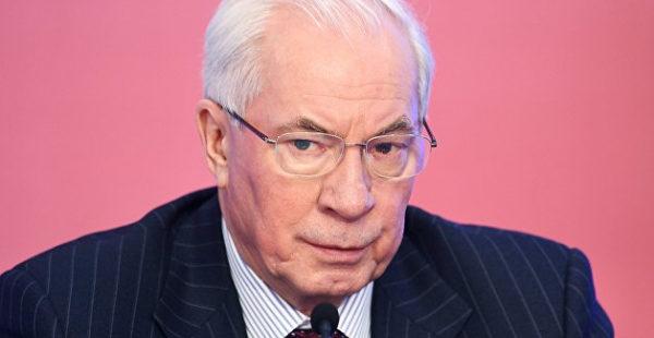 Азаров заявил об обнищании украинцев