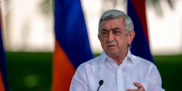 """Офис Саргсяна – Пашиняну: """"пришло время ответить за свои поступки"""":"""