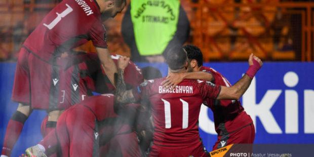 Сборная Армении по футболу единолично возглавила отборочную группу после поражения немцев