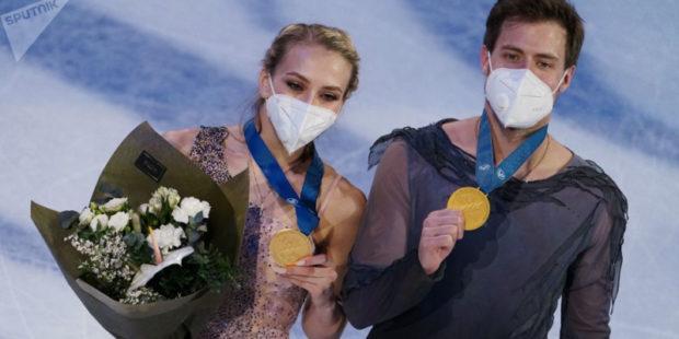 Синицина и Кацалапов через 12 лет вернули в Россию золото чемпионата мира в танцах на льду