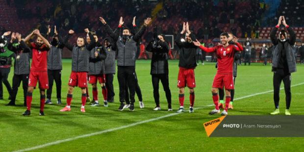 Впервые в истории - сайт мундиаля отметил достижение сборной Армении