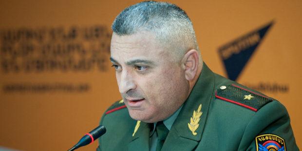 Заместителю начальника армянского Генштаба предъявили обвинение