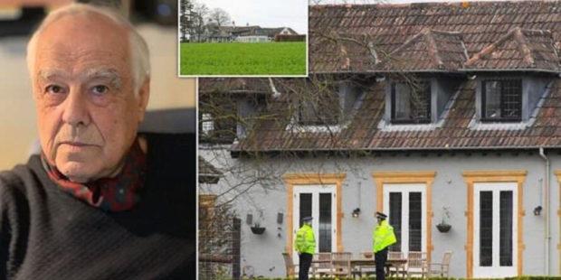 Миллионера Ричарда Саттона убили в Дорсете: кадры с места нападения