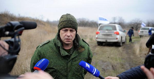 Басурин раскрыл детали гибели украинского диверсанта под Горловкой