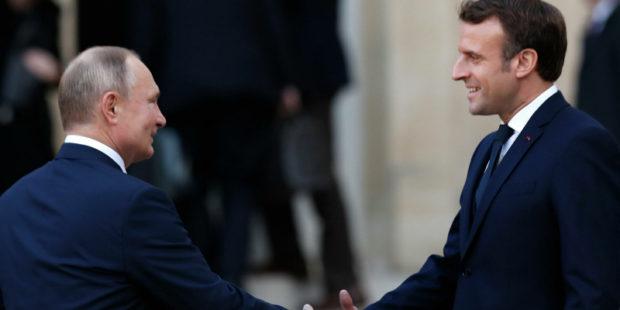 Макрон после встречи с Зеленским решил срочно связаться с Путиным