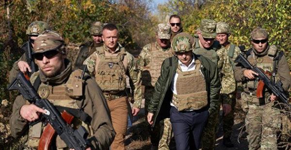Зеленский рассказал о резком росте числа погибших украинских военных в Донбассе за последние 10 дней