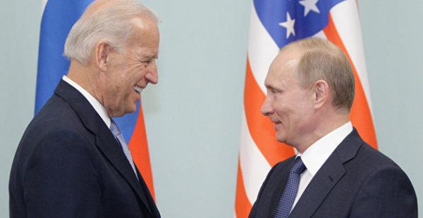 Байден заявил Путину о заинтересованности нормализации отношений США и РФ, рынки отреагировали ростом