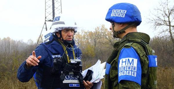 Украинские военные обманом не пустили ОБСЕ к запрещенным вооружениям