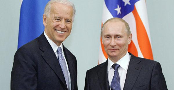 Байден предложил Путину встретиться как можно скорее
