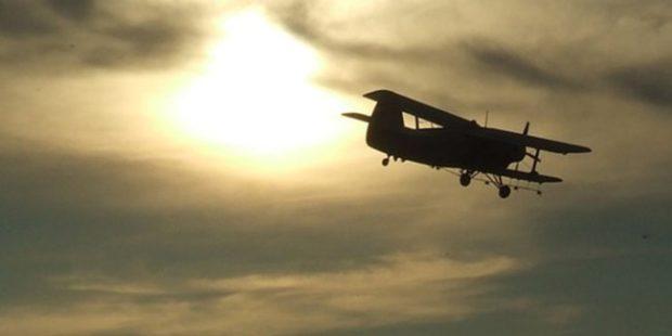 В Саратовской области упал легкомоторный самолет