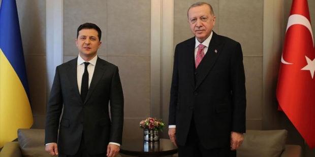Зеленский и Эрдоган приступили к закрытым переговорам
