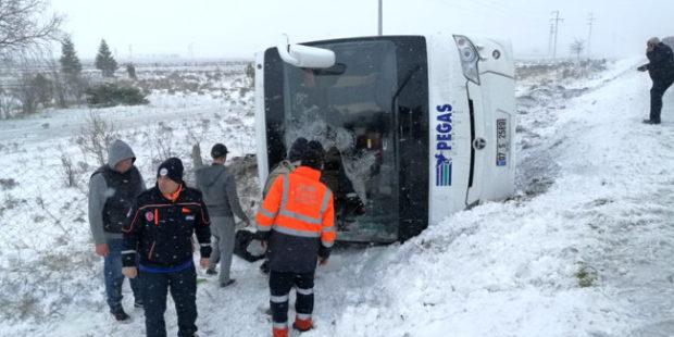В перевернувшемся в Турции автобусе погибла жительница Хакасии