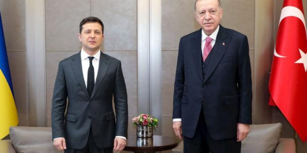 Эрдоган подтвердил Зеленскому позицию Турции по Крыму