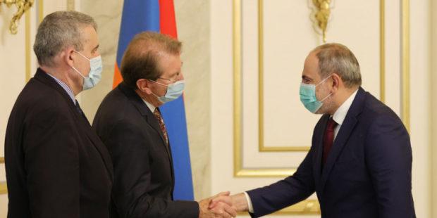 Армения всегда чувствовала поддержку Франции – Пашинян принял группу депутатов