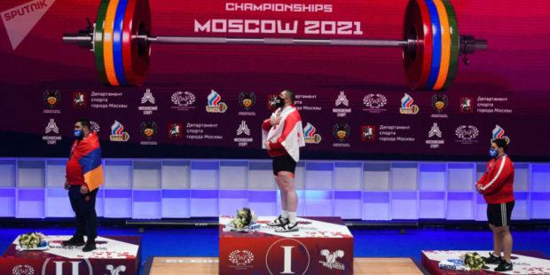 Армения заняла третье место в медальном зачете на ЧЕ по тяжелой атлетике в Москве