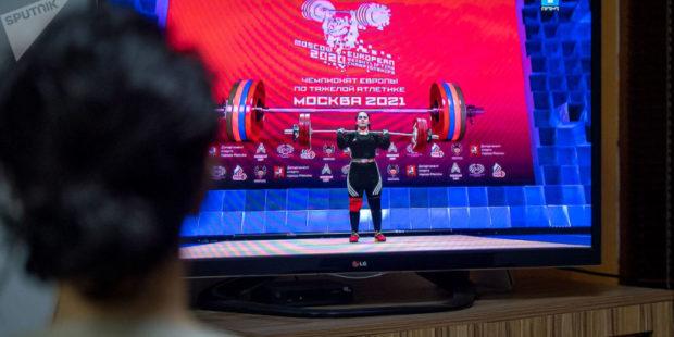 Армянская спортсменка осталась без медали европейского чемпионата в Москве